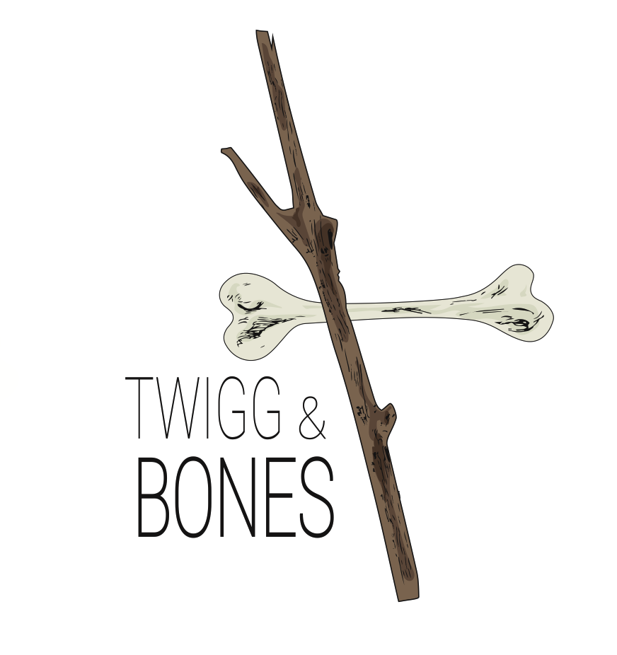 Twigg and bones logo