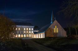 Vue de nuit de la chapelle