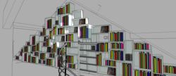 Bibliothèque (modélisation 3D)