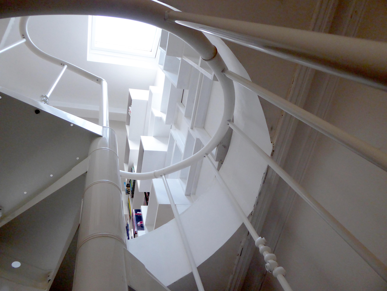 Vue depuis l'escalier