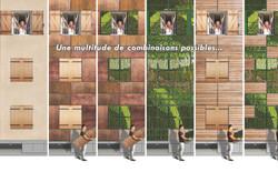 Des façades évolutives et modulables
