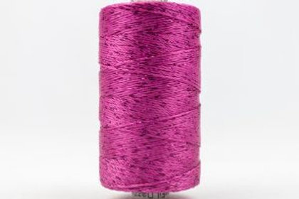 WONDERFIL DAZZLE 8wt Rayon with Metallic Thread FUCHSIA