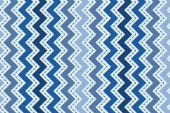 KimberBell Basics ZIG ZAG BLUE