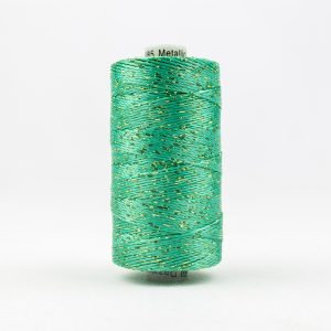 WONDERFIL DAZZLE 8wt Rayon with Metallic Thread SEA FOAM GREEN