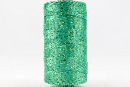 WONDERFIL DAZZLE 8wt Rayon with Metallic Thread SEA FOAM GREEN