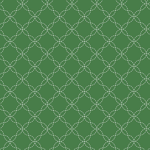 KimberBell Basics LATTICE GREEN