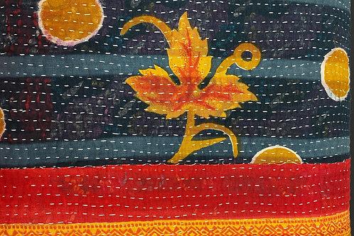 Exquisite Vintage Quilt - Bright Bold Colors
