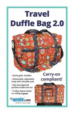 TRAVEL DUFFLE BAG 2.0 By Annie Pattern