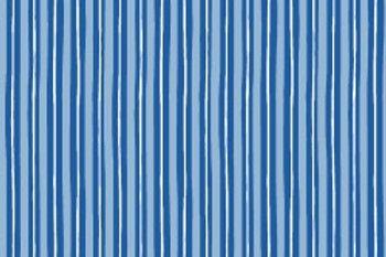 KimberBell Basics LITTLE STRIPE BLUE