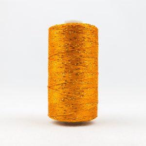 WONDERFIL DAZZLE 8wt Rayon with Metallic Thread PUMPKIN