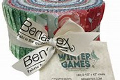 Winter Games Pinwheel by Benartex