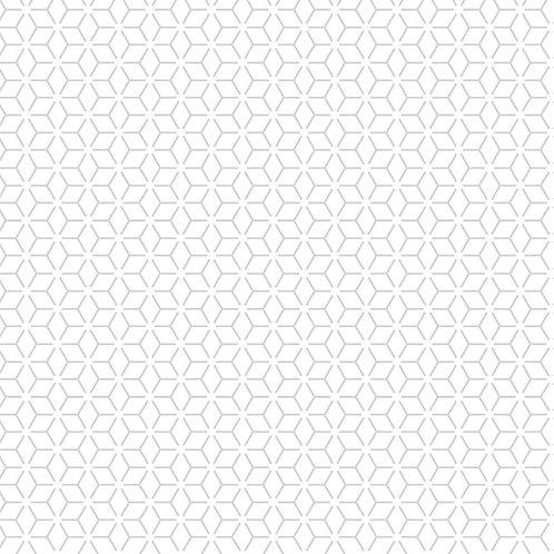 KimberBell Basics CONNECTED STARS WHITE