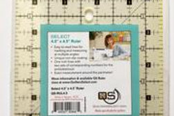 """Quilters Select RULER 4.5"""" x 4.5"""""""