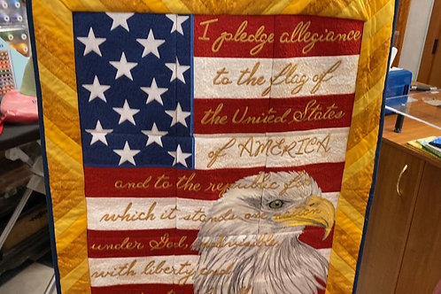 Pledge Allegiance Quilt Kit