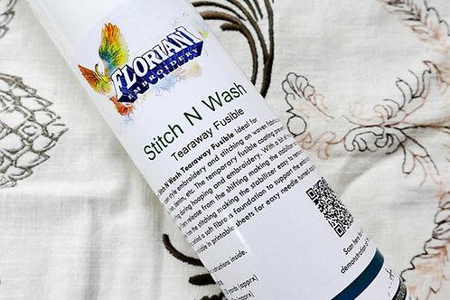 Floriani Stitch n Wash Fusible 12in x10yd