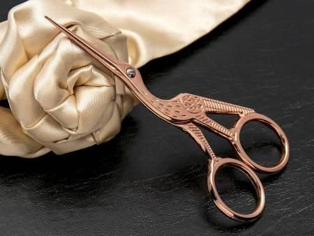 Rose Gold 4 1/2 inch Embroidery Scissors
