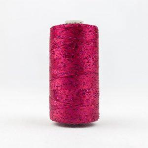 WONDERFIL DAZZLE 8wt Rayon with Metallic Thread BOYSENBERRY