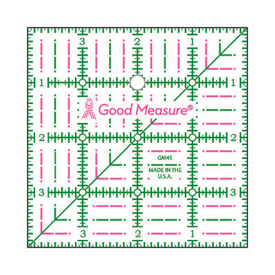 Good Measure Cut for the Cure Ruler 4X4