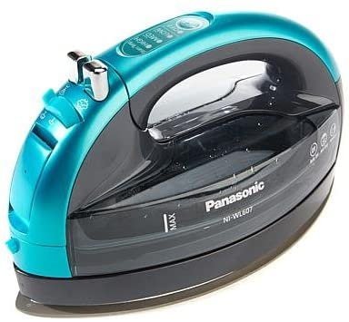 360 Cordless Iron Blue Ceramic Sole Plate by Panasonic