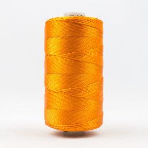 WONDERFIL RAZZLE 8wt Rayon Thread PUMPKIN