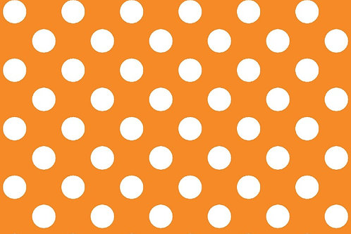 KimberBell Basics DOTS ORANGE