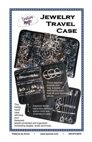 JEWELRY TRAVEL CASE By Annie Pattern