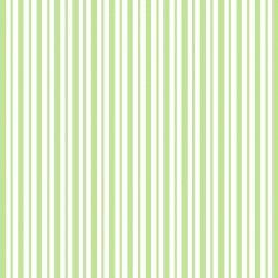 KimberBell Basics STRIPES GREEN WHITE