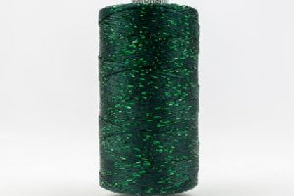 WONDERFIL DAZZLE 8wt Rayon with Metallic Thread FOREST GREEN
