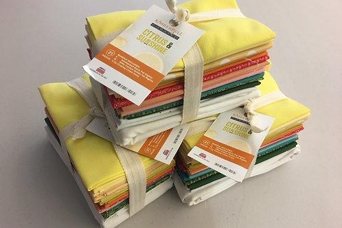 Citrus Sun Fat Eighths Bundle - 20 pcs