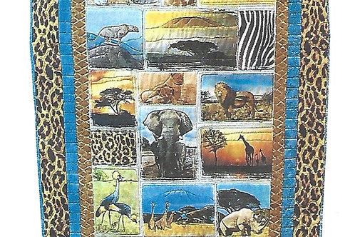 African Safari Quilt Kit