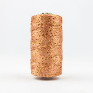 WONDERFIL DAZZLE 8wt Rayon with Metallic Thread DARK PEACH