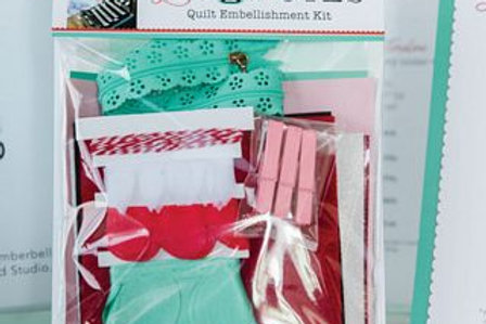KimberBell LOVE NOTES EMBELLIMENT KIT