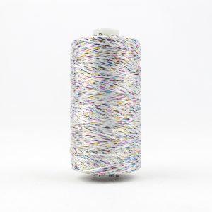 WONDERFIL DAZZLE 8wt Rayon with Metallic Thread WHITE