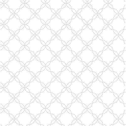 KimberBell Basics LATTICE WHITE ON WHITE