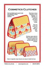Cosmetic Clutches By Annie Pattern
