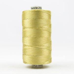 WONDERFIL RAZZLE 8wt Rayon Thread GOLD