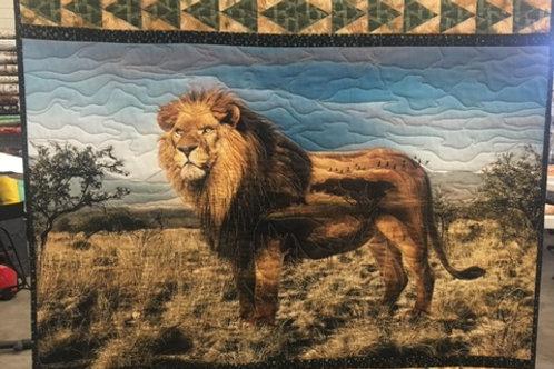 Lion Quilting Kit