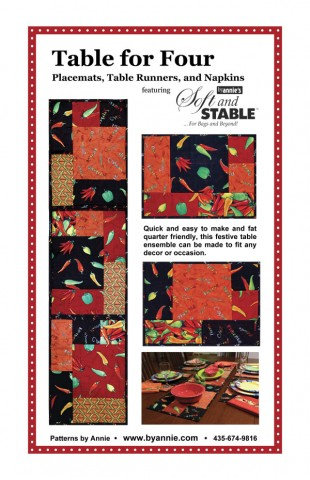 TABLE FOR FOUR By Annie Pattern