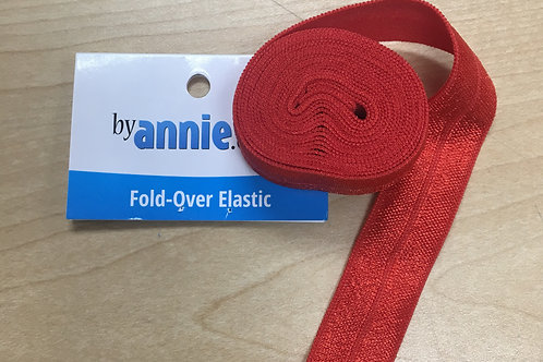 By Annie Fold Over Elastic - Limited Supply - Assorted Colors