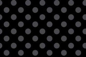 KimberBell Basics DOTS BLACK GRAY
