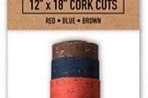 """Eversewn Cork Fabric 12""""x18"""" 3 pk"""