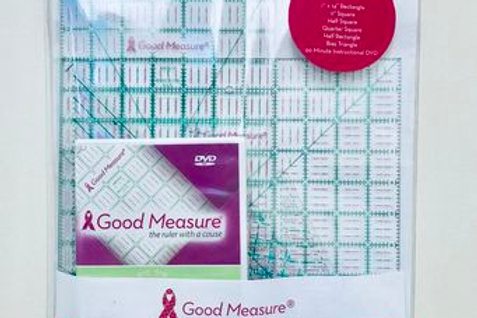 Good Measure Cut for the Cure Ruler BASIC SET