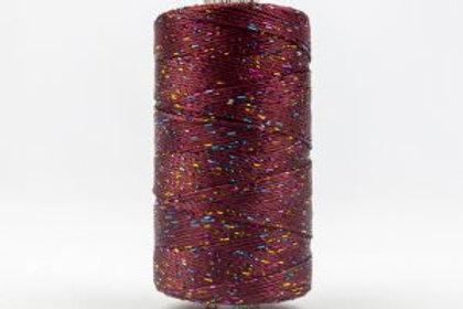 WONDERFIL DAZZLE 8wt Rayon with Metallic Thread MOLASSES