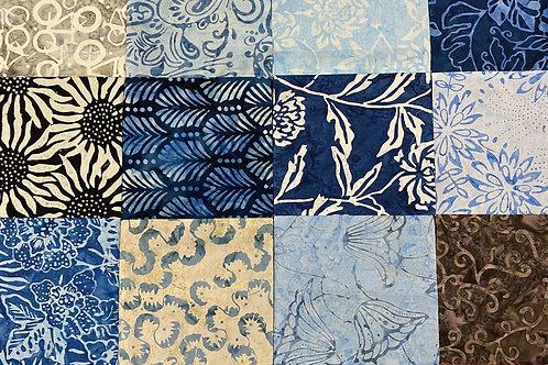 Linda Z's Indian Batik Kantha Quilt