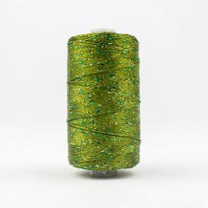 WONDERFIL DAZZLE 8wt Rayon with Metallic Thread AVOCADO