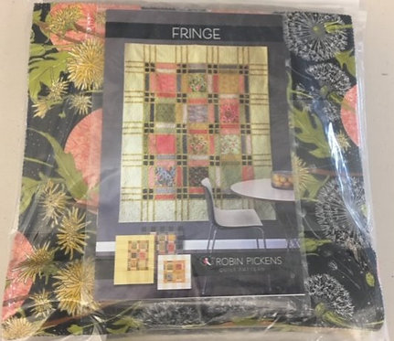 Fringe Pattern and Fabric Kit