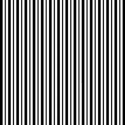 KimberBell Basics STRIPES BLACK WHITE