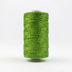 WONDERFIL DAZZLE 8wt Rayon with Metallic Thread GRASS GREEN