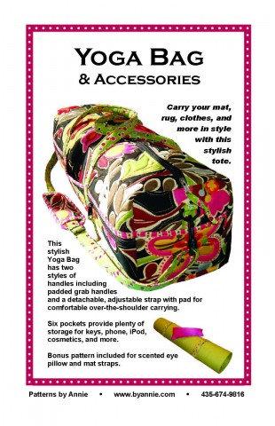 YOGA BAG By Annie Pattern
