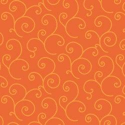 KimberBell Basics SCROLL ORANGE